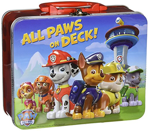 Paw Patrol 24-Piece Puzzle in Lunch Tin box - All Paws on Deck!