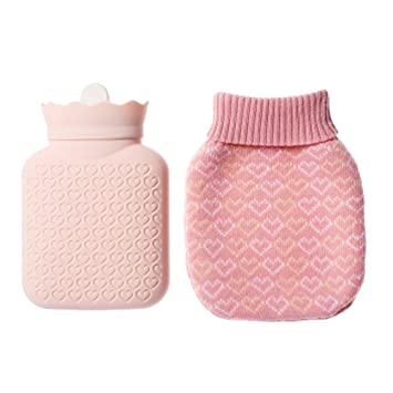 Amazon Warm Water Bagclassic Rubber Hot Water Bottle With Knit