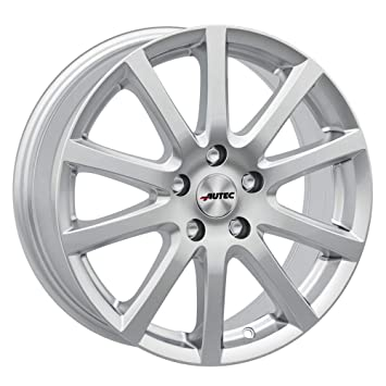 Autec Rims Skandic 6.0x15 ET38 5X100 Sil Seat Cordoba Ibiza Leon Toledo: Amazon.co.uk: Car & Motorbike
