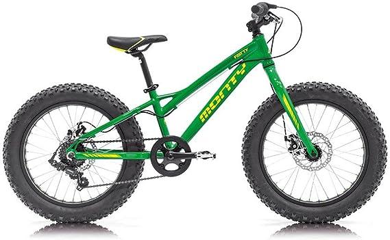 Monty Fatty Bicicleta, Unisex niños, Verde, Talla Única: Amazon.es: Deportes y aire libre