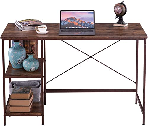 MTFY Industrial Style Writing Computer Desk
