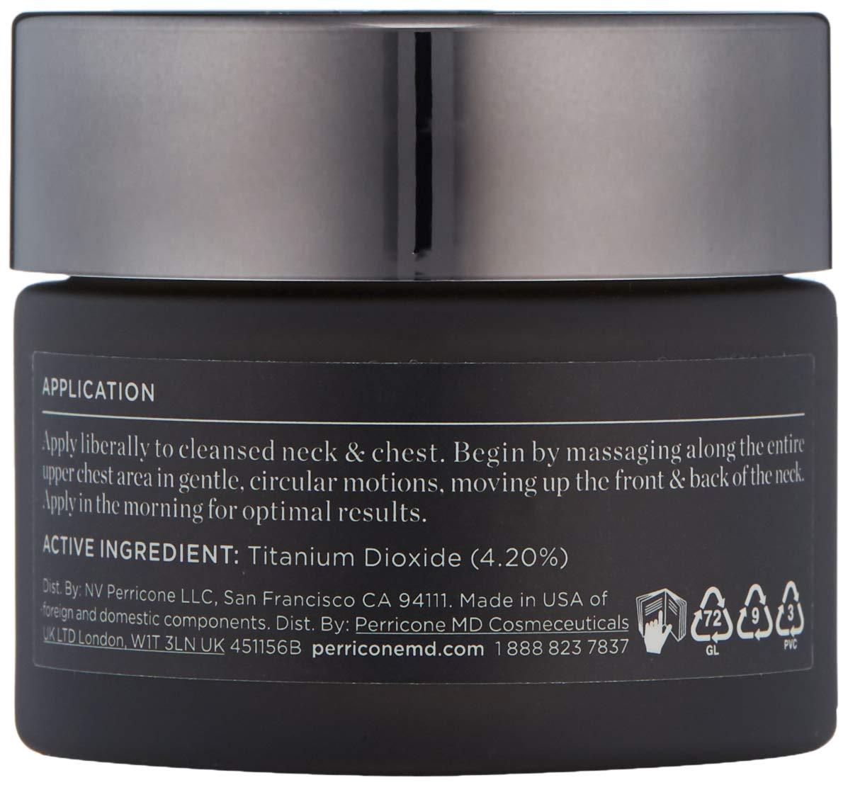Perricone MD Cold Plasma Plus+ Neck & Chest Broad Spectrum SPF 25 1 Oz: Premium Beauty