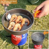 REDCAMP 13 PCS Camping Cookware Mess