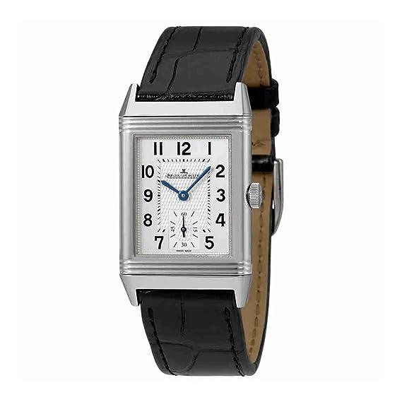 Jaeger LeCoultre Reverso clásico plata Dial Mens mano herida reloj q2438520