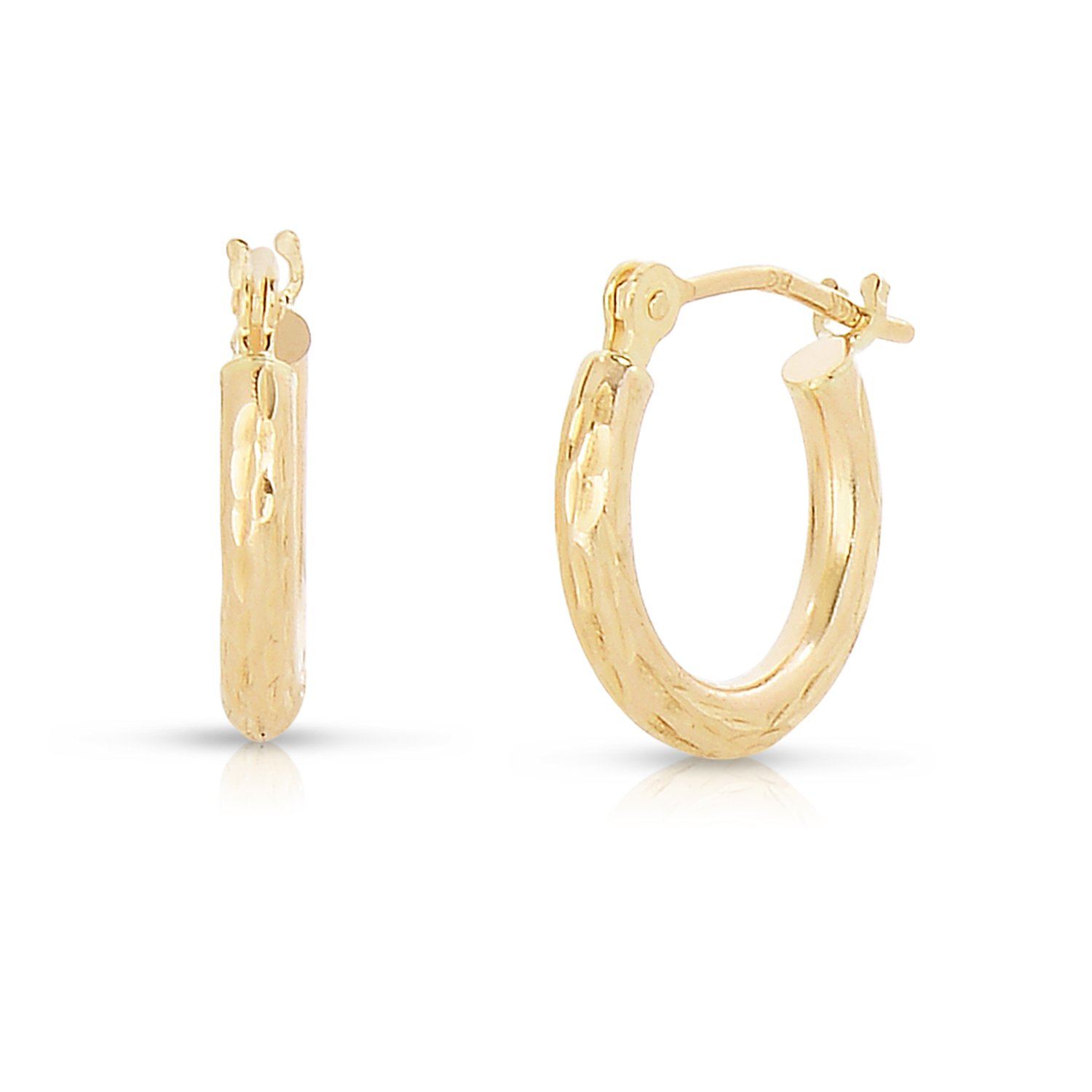 hoop jewellery happiness gold boutique double earrings en
