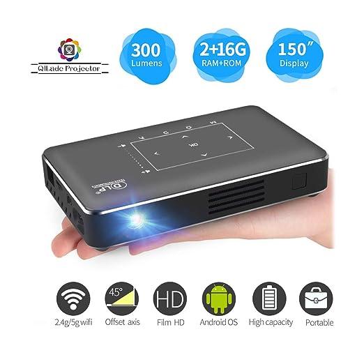 Mini Pico Projector portátil, Pocket Smart Phone DLP Android Video ...