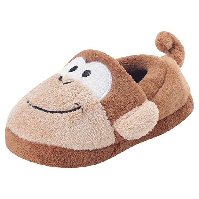 013315e09e0 Stephen Joseph Silly Slippers Monkey (Medium 4 years)  Amazon.co.uk  Shoes    Bags