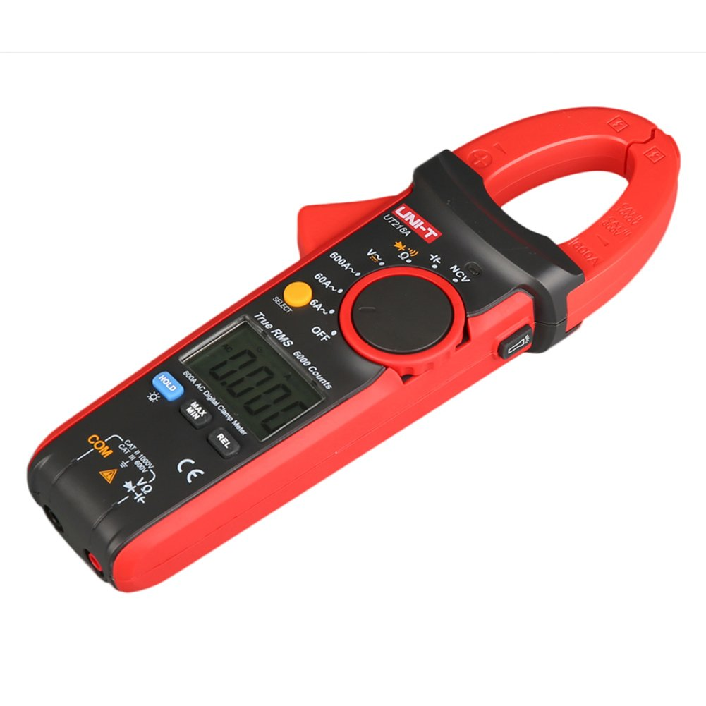 UNI-T UT216A 600A Digital Clamp Meters DC Current NCV Tester V.F.C Diode LCD Display Work Light AUTO Range Multimeters by UNI-T (Image #5)