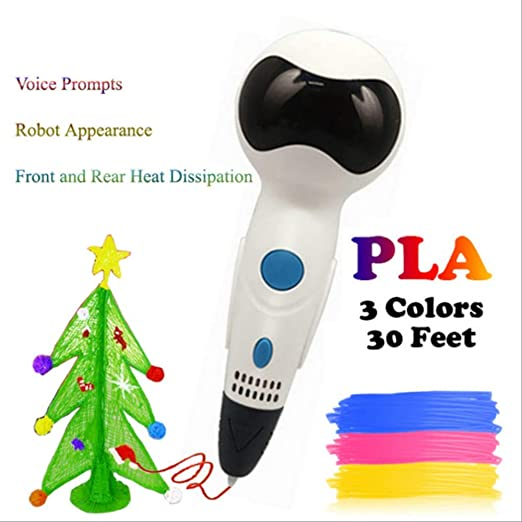 Pluma 3D Con Pantalla Pluma Mensaje De Voz Robot Impresora De ...
