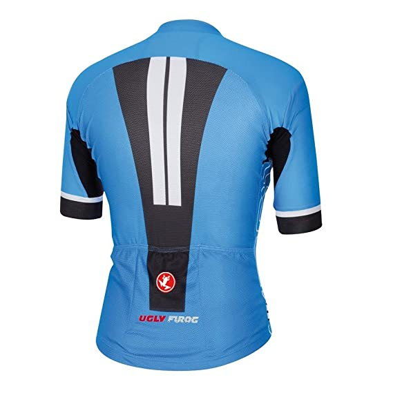 f71080e70 Amazon.com   Uglyfrog 2016 New Mens Outdoor Sports Cycling Short Sleeve  Cycle Jersey Bike Shirt Bicycle Top Heigh Quality UGDX8   Sports   Outdoors