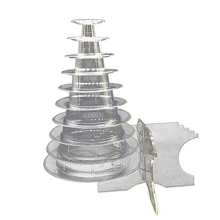 Topxingch - Soporte de torre para tarta de 10 pisos para ...