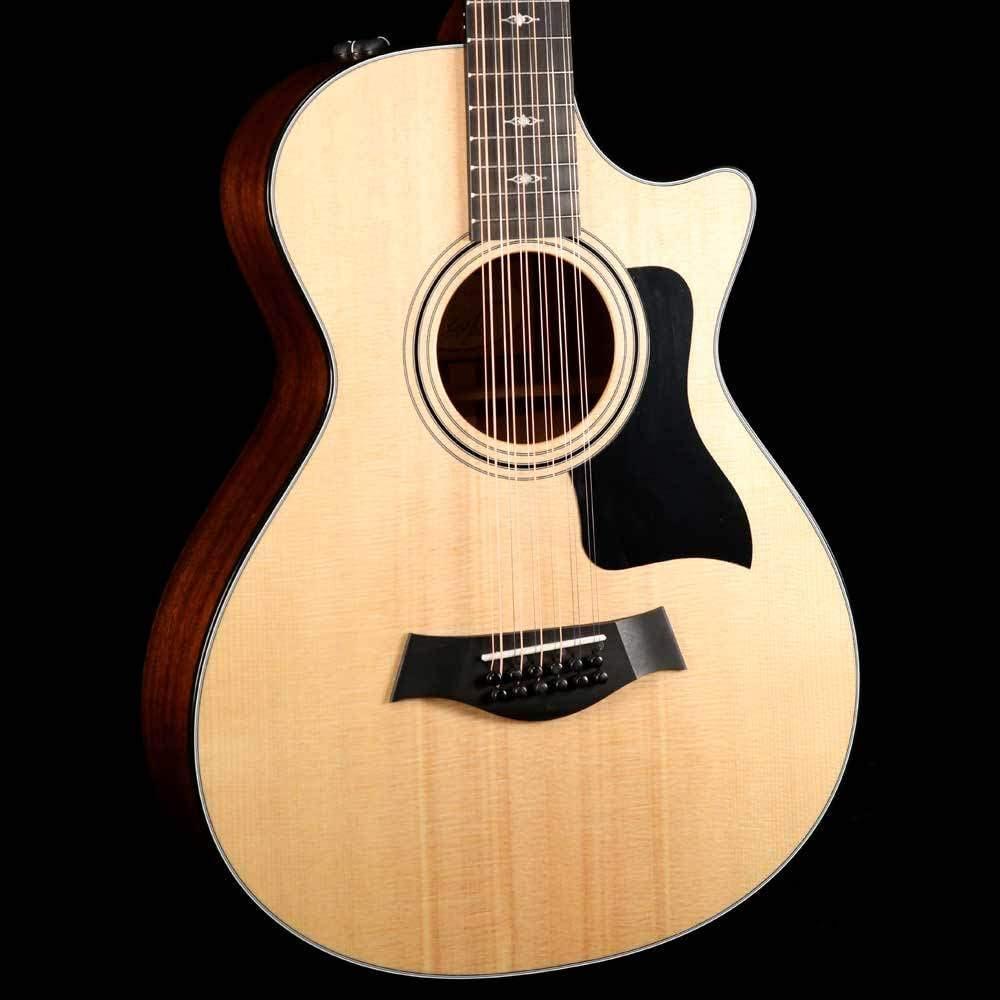 Taylor 352 CE 12-Fret Grand concierto electroacústica guitarra de ...
