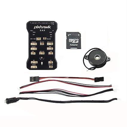 Amazon.com: Hobbypower Pixhawk PX4 - Controlador de vuelo de ...