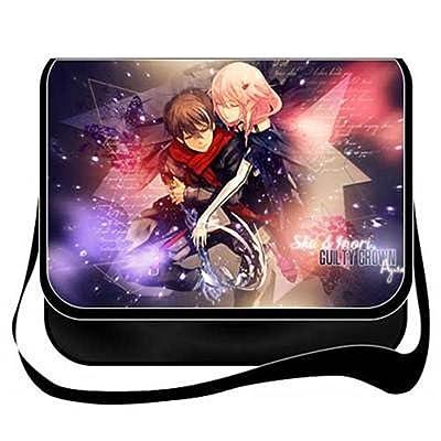 YOYOSHome Anime Guilty Crown Cosplay Messenger Bag Shoulder Bag Crossbody  Backpack School Bag 50%OFF 8ac77c46f1aab