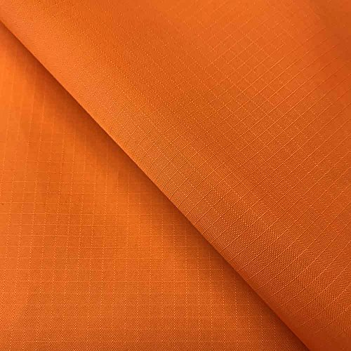 Light Tent Fabric - Nylon Ripstop Fabric PU Coated 70 Denier 1.9oz 62/63