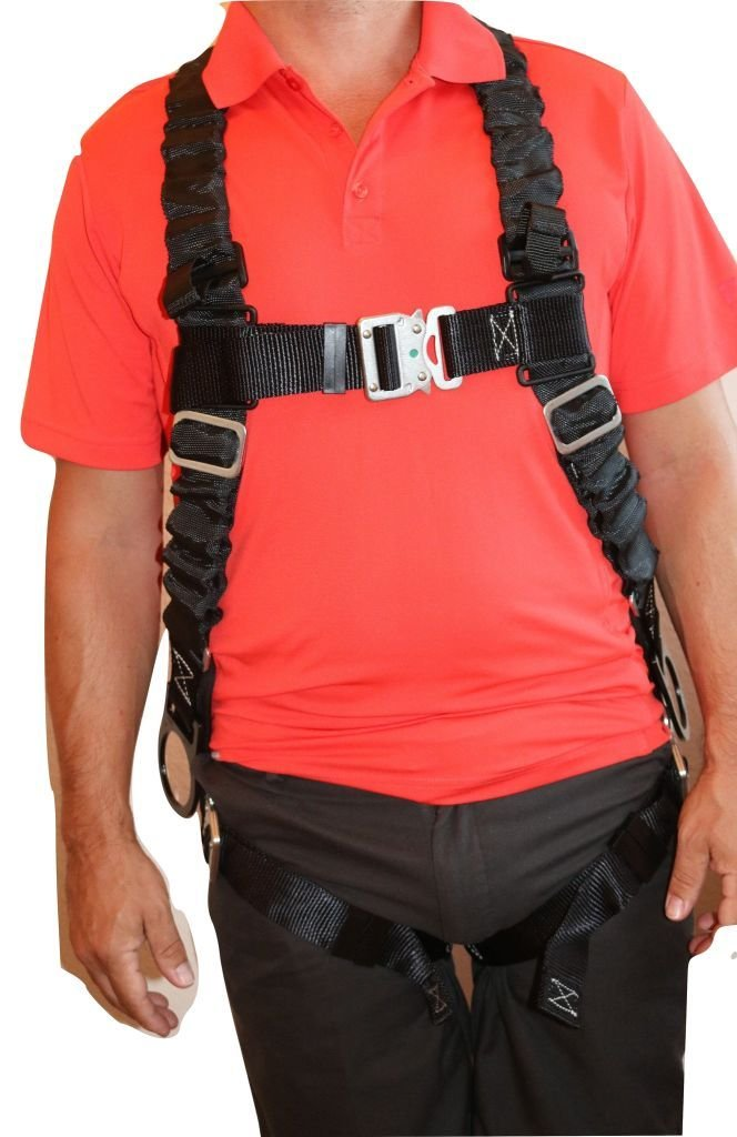 Ultra Pillow-Flex Harness, Quick Release, 3 D-Rings & Padded Leg Straps by Ultra-Safe Inc. (Image #1)
