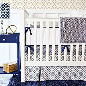 Amazon Com Caden Lane 2 Piece Crib Set Golden Boy