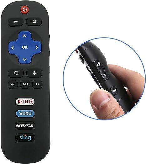 Nueva RC280 Mando a Distancia para TCL roku Smart Internet Listo para televisor 43s303 43s305 43s403 43s405 43up120 43up130 48 FS3700: Amazon.es: Electrónica