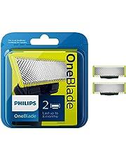 Philips QP220/50 OneBlade Lama di Ricambio, Confezione da 2 Pezzi