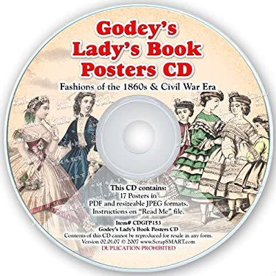 ScrapSMART - Godey's Lady's Book Posters: Software Collection- Jpeg & PDF Files [Download]