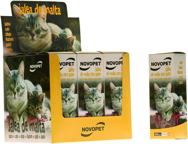 Novopet Jalea de Malta para Gatos - 125 ml: Amazon.es: Productos para mascotas