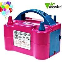Amzdeal Inflador globo electrico para inflar globos hinchador