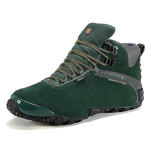 Onemix Mujeres Tobillo-Alto cálido Calzado Deportivo cómodo Impermeable Botas de Nieve de Invierno Trekking Trail Senderismo Botas: Amazon.es: Zapatos y ...