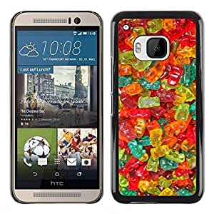 LASTONE PHONE CASE / Slim Protector Hard Shell Cover Case for HTC One M9 / Candy Sweets Food Colors by ruishername