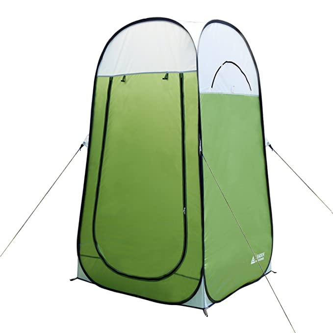 Leader Accessories Pop Up Shower Tent Dressing Changing Tent Pod Toilet Tent 4' x 4' x 78