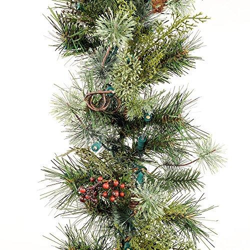 christmas lighted garland amazoncom
