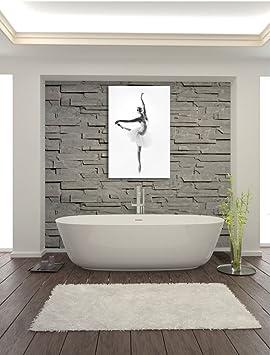 Ästhetische Ballerina, Format: 100x70 auf Leinwand, XXL
