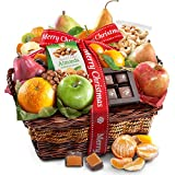 Golden State Fruit Christmas Orchard Delight Fruit & Gourmet Gift Basket