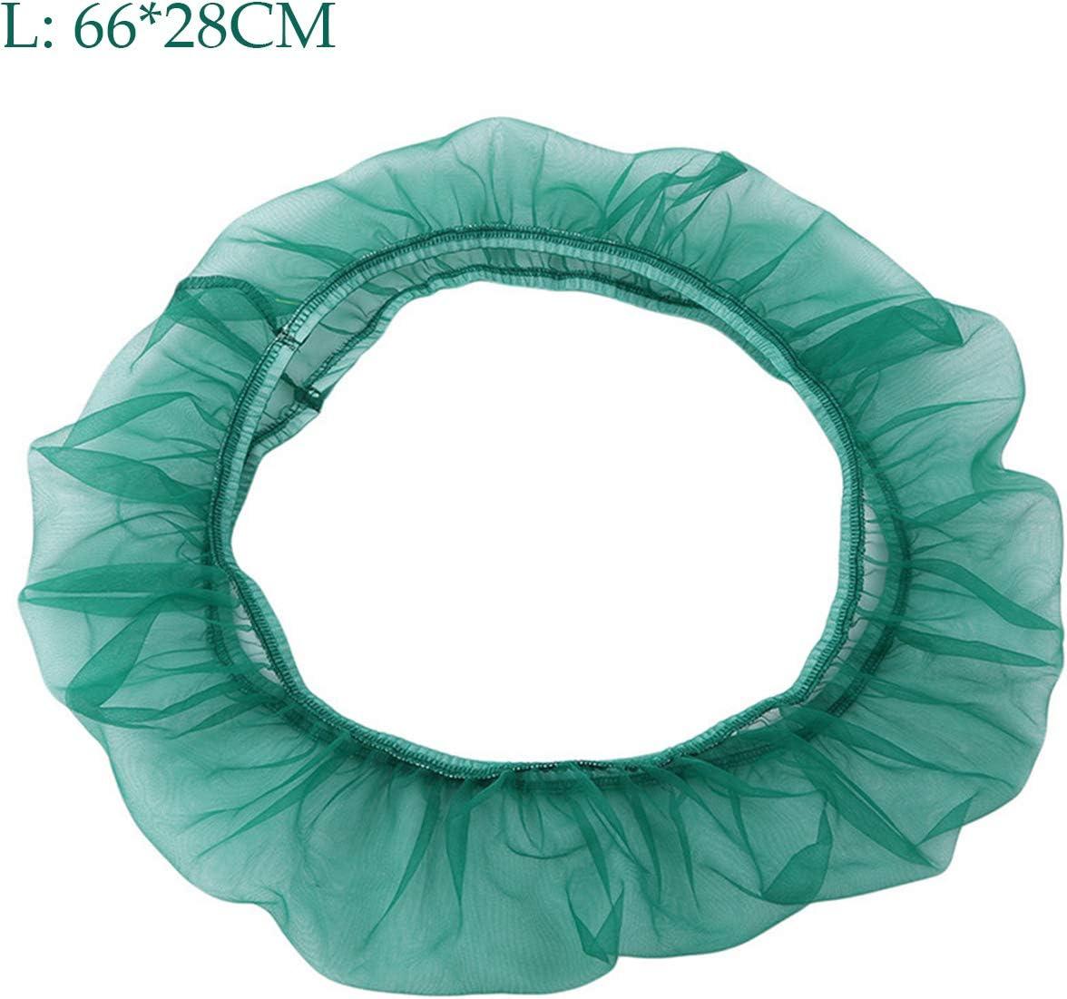 Ramble Cubierta para Jaula de p/ájaros Tela de Nailon Cubierta para recolector de Semillas de Jaula de Loros para p/ájaros para Mascotas M Black