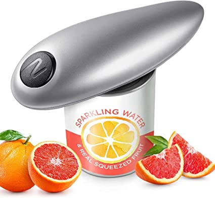 Best Kitchen Gadget for Arthritis and Seniors One-Touch Start Operation Best Hands-Free Automatic Electric Can Opener for Kitchens and Restaurants Safe and Convenient Red Electric Can Opener