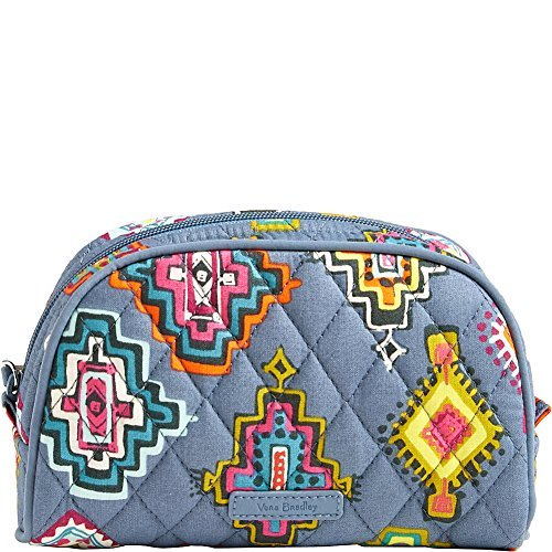 (Vera Bradley Luggage Women's Small Zip Cosmetic Painted Medallions Luggage)