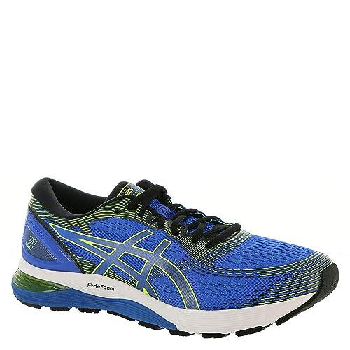 ASICS Herren Gel Nimbus 21 Schuhe, 42 EU, Illusion BlueBlack