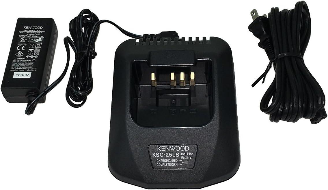 TK-2140 TK-3173 TK-3170 TK-3140 TK-3360 Kenwood KSC-25LSK Rapid Charger for NX-220 TK-2170 TK-3160 TK-2360 TK-2160 NX-320