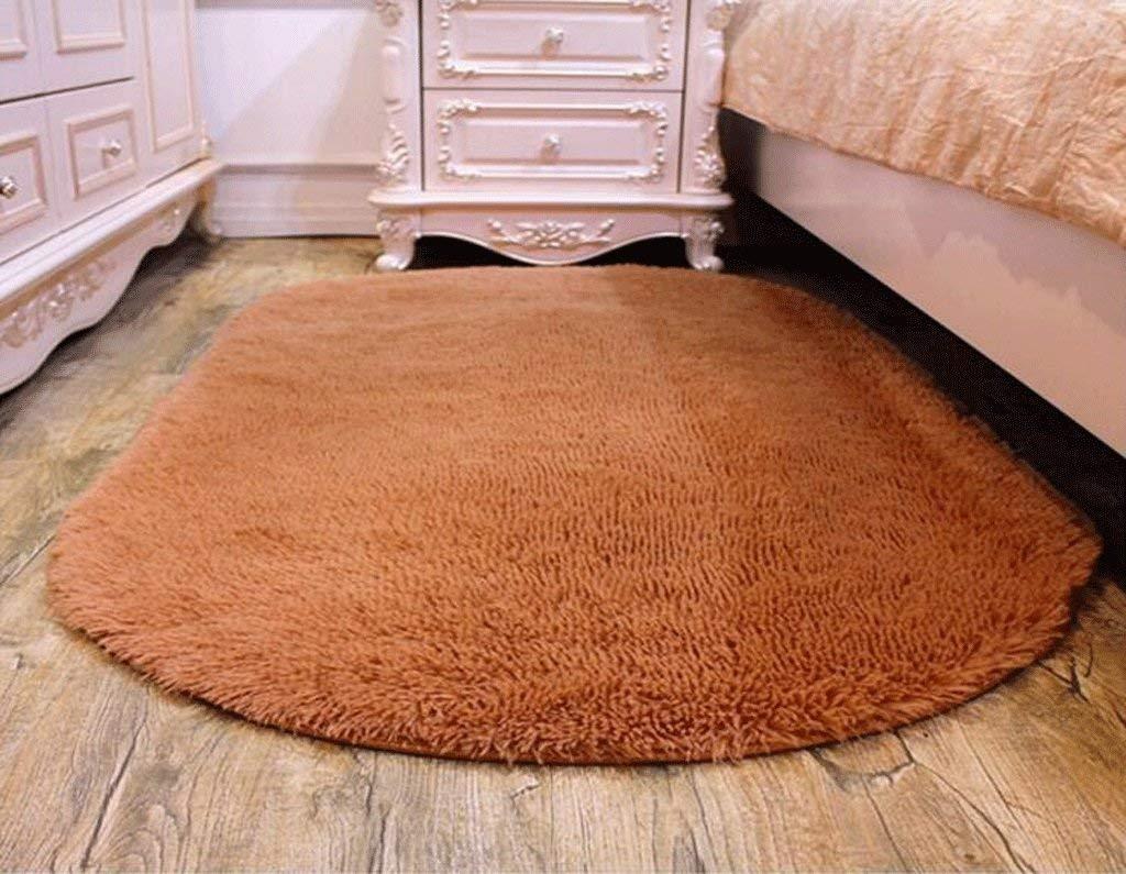 MingXinJia Anti-Rutsch-Teppich Matten Bodenmatte Home Familie Indoor Outdoor-Oval-Matten Home Wohnzimmer Kaffee Matten Schlafzimmer Decken (kurzes Haar) B07L1SHYVB Duschmatten
