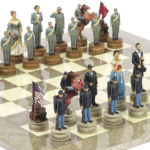 品質満点 American Civil War/ Chessmen Extra Large Chessmen Chessmen & B005ZJV1P4 Greenwich Streetチェスボード。King : 4 7/ 8。」 B005ZJV1P4, ナギチョウ:001a1d77 --- arianechie.dominiotemporario.com
