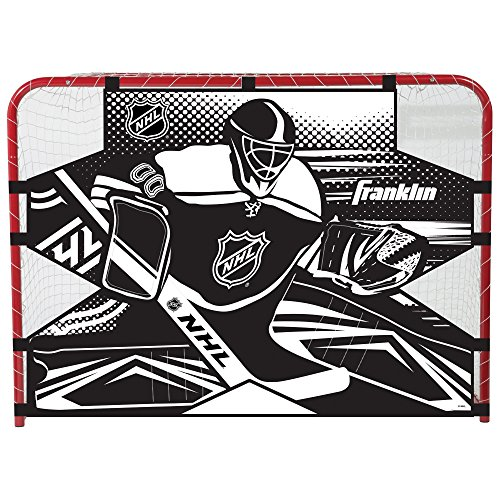 Franklin Sports Hockey Shooting Target - NHL - Fits 54 x 44 Inch Hockey - Goal Hockey Metal
