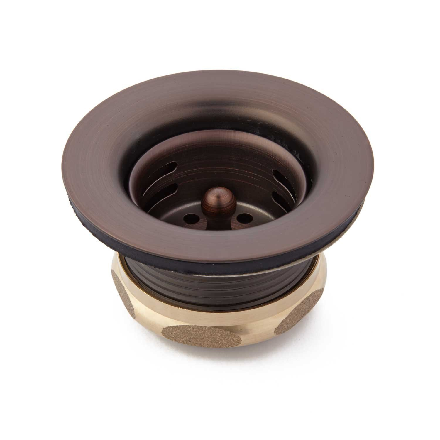 Naiture 1-3 / 4'' Bars Strainer With Lift Stopper In Oil Rubbed Bronze Finish