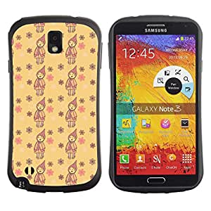 ArtSpace Premium Hybrid Back Case Cover Samsung Galaxy Note 3 III ( Cute Child )