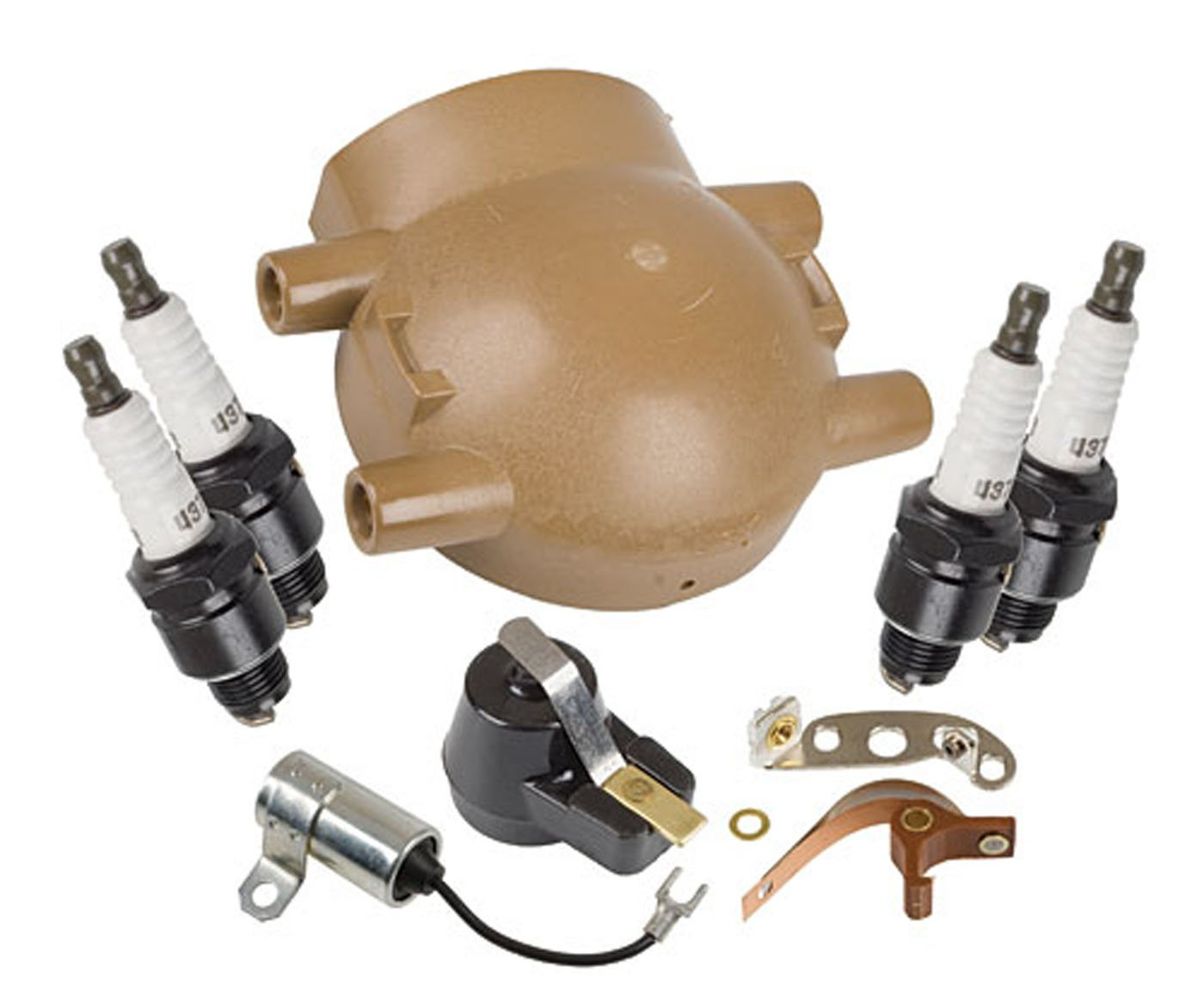 Amazon com master tune up kit for ford tractor 9n 2n 8n with front mount distributor patio lawn garden