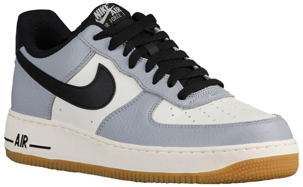 [ナイキ] Nike Air Force 1 Low - メンズ バスケット [並行輸入品] B072PVJXHT US09.5 Wolf Grey/Black/Sail/Gum Light Brown