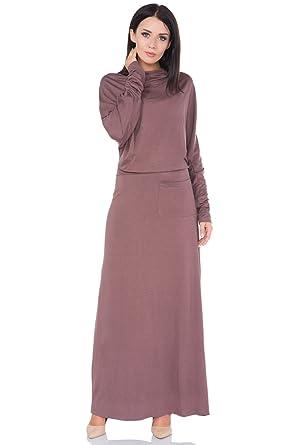 9452705862c6 FUTURO FASHION Ladies Modest Elegant Semi-Formal Batwing Ankle Length Dress  FM39: Amazon.co.uk: Clothing
