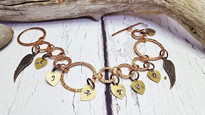 Amazon Personalized Name Bracelet Memorial Hand