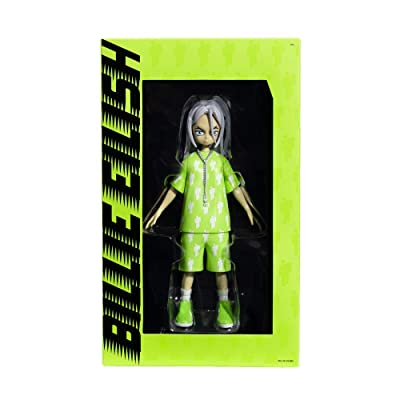 Billie Eilish X Takashi Murakami Limited Edition Vinyl Figure Collectible: Toys & Games