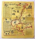 Treasure Map Poster 23 X 29