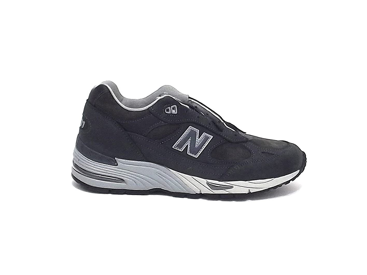 Turnschuhe New Balance 991 in pelle e suede grau Anthracite