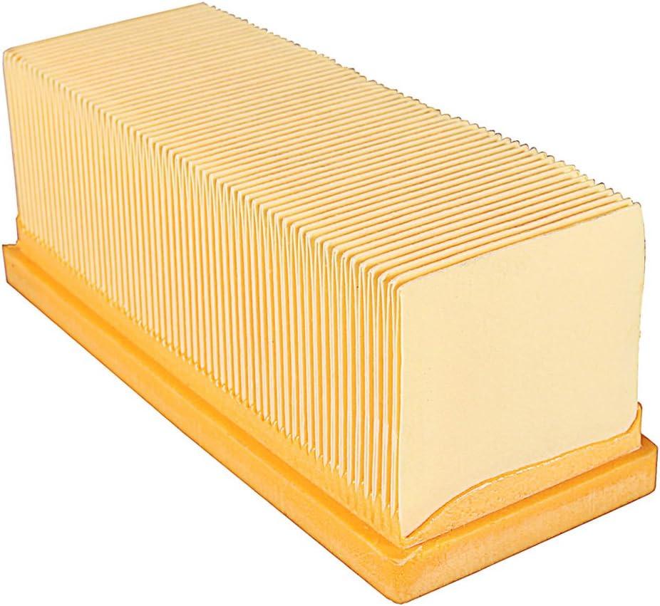 PATONA HEPA Filtro plano de pliegues compatible con Kärcher